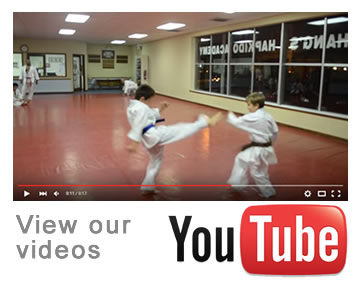 View our videos on YouTube - Chang's Hapkido
